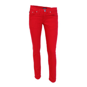Red Stretch Darkside Jeans