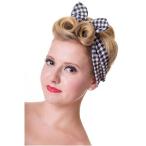 Rockabilly Gingham Headband