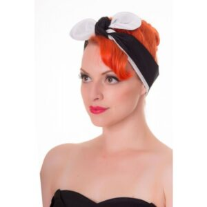 Rockabilly Tie Plain Headband
