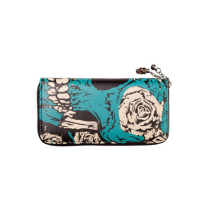 Skull and Rose Banned Wallet