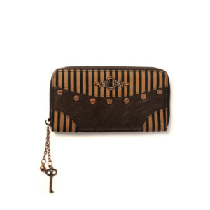 Brown Stripe Banned Wallet