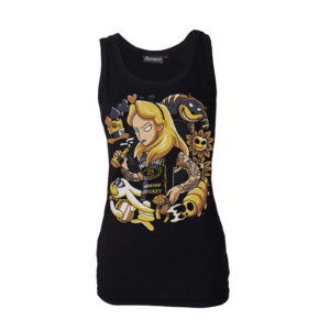 Alice Tattoo Darkside Vest Top