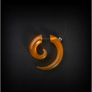 Spiral Stretcher-Look Ear-ring