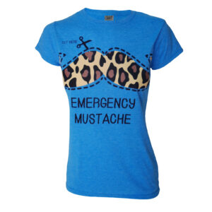 Emergency Moustache Darkside T-Shirt