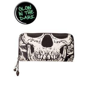 Skull face Banned Wallet