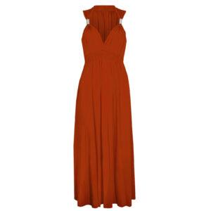 Spring Coil Maxi Dress